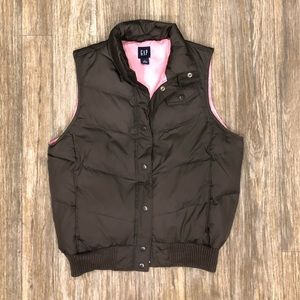 Brown Gap Vest